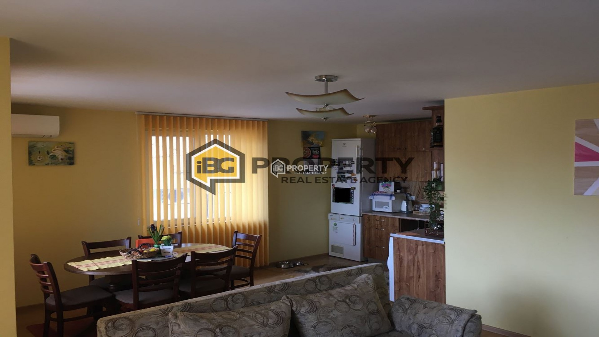 One bedroom furnished apartment in Vinitca