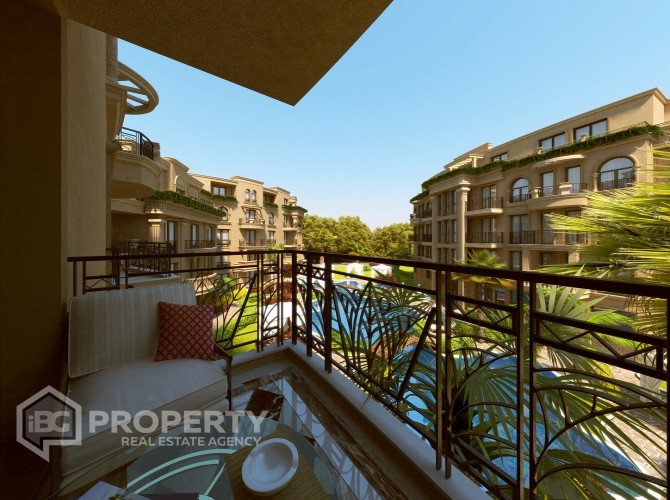 One bedroom apartment Sunny Beach 71 m2