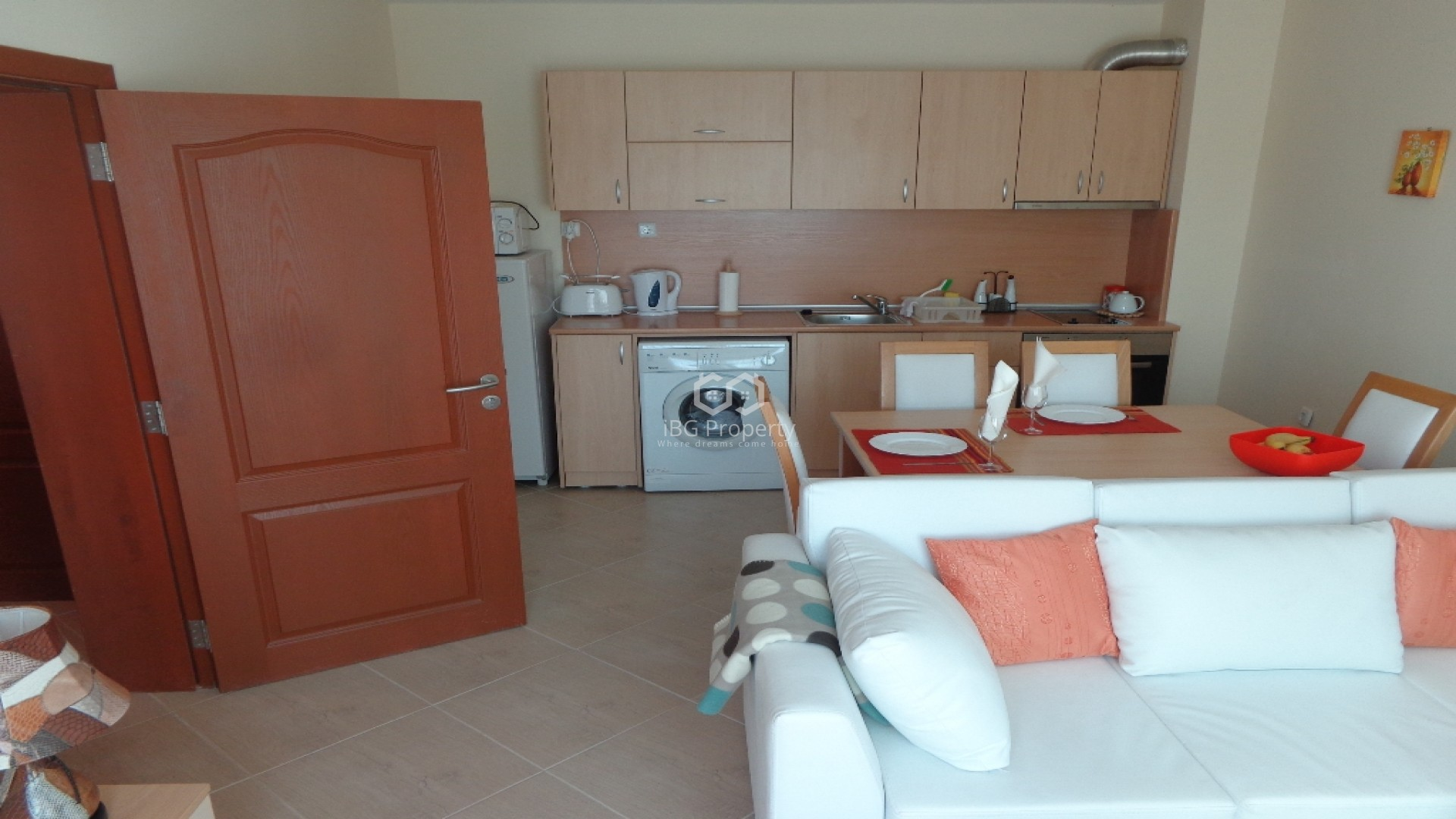 Two bedroom apartment Sunny Beach 89 m2