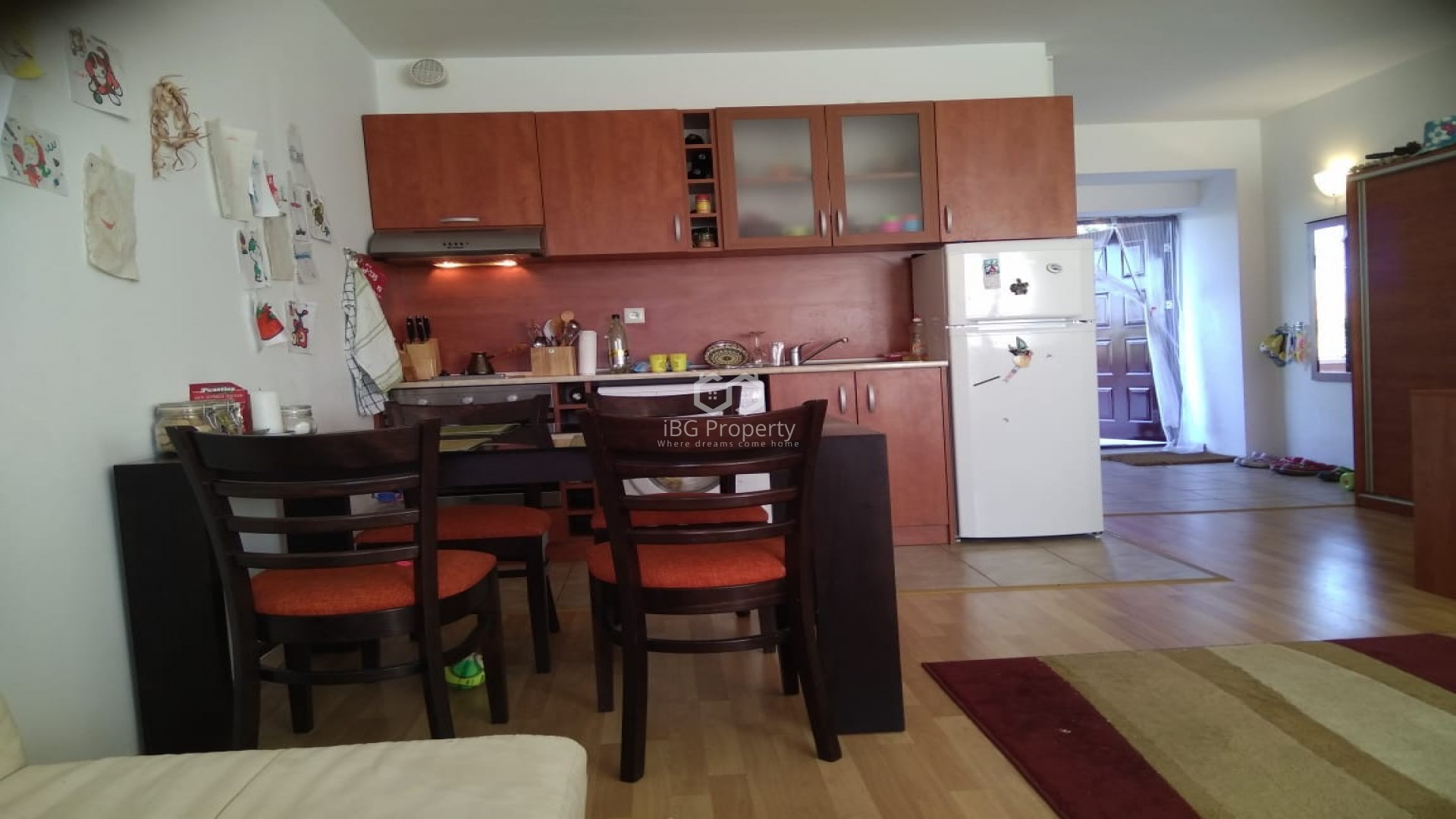 One room apartment Byala 52 m2