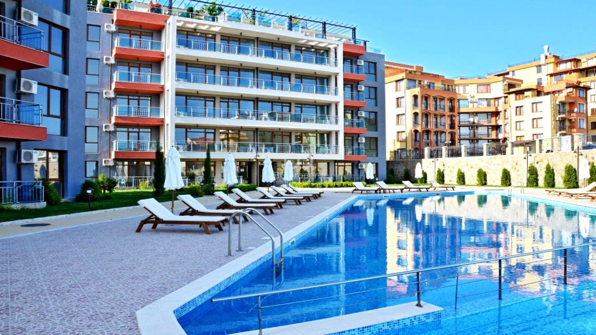 One bedroom apartment Sveti  vlas 57,81  sq,m.