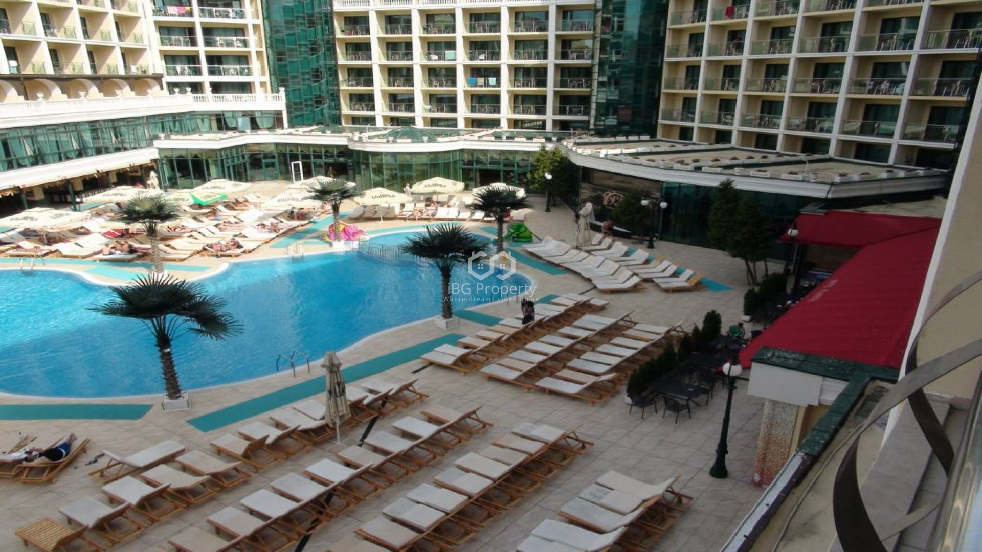 Two bedroom apartment  sunny Beach 83 m2