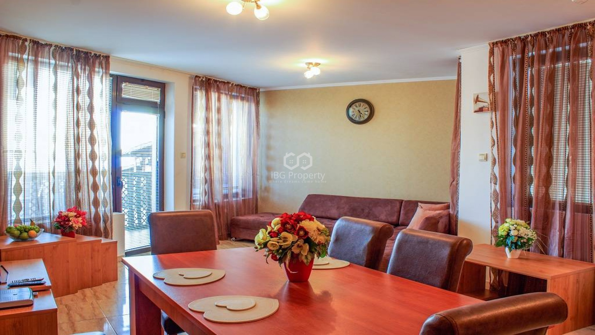 Two bedroom apartment Sveti Vlas 83 m2