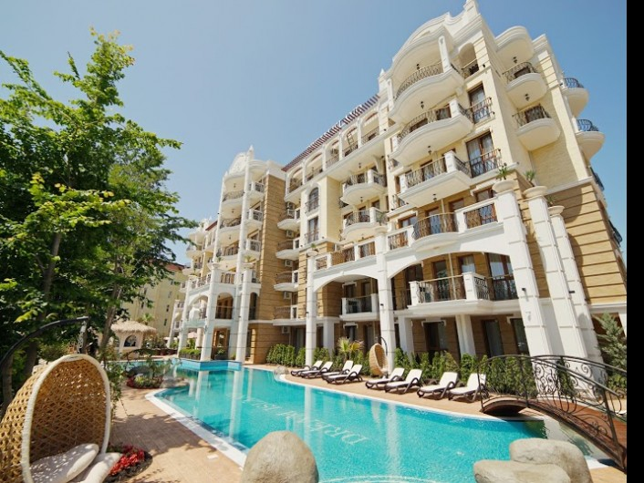 Two bedroom apartment Sunny Beach 55 m2