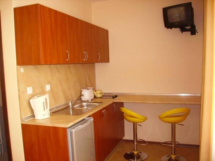 One room apartment Sunny Beach 24 m2