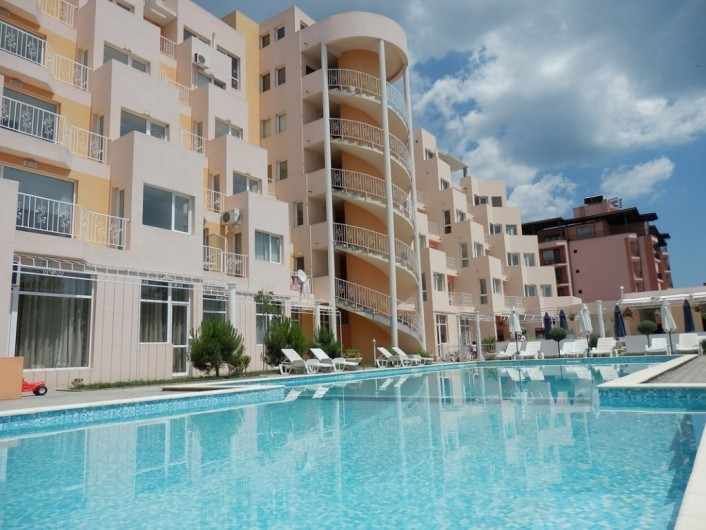 One room apartment Sunny Beach 39 m2