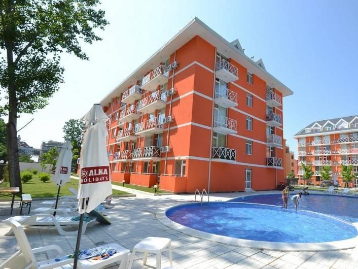 One room apartment Sunny Beach 29 m2