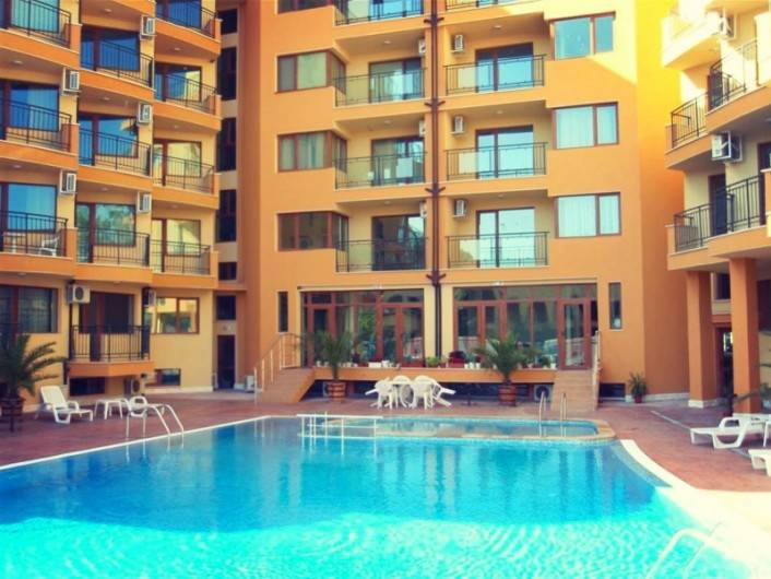 One room apartment Sunny Beach 32 m2