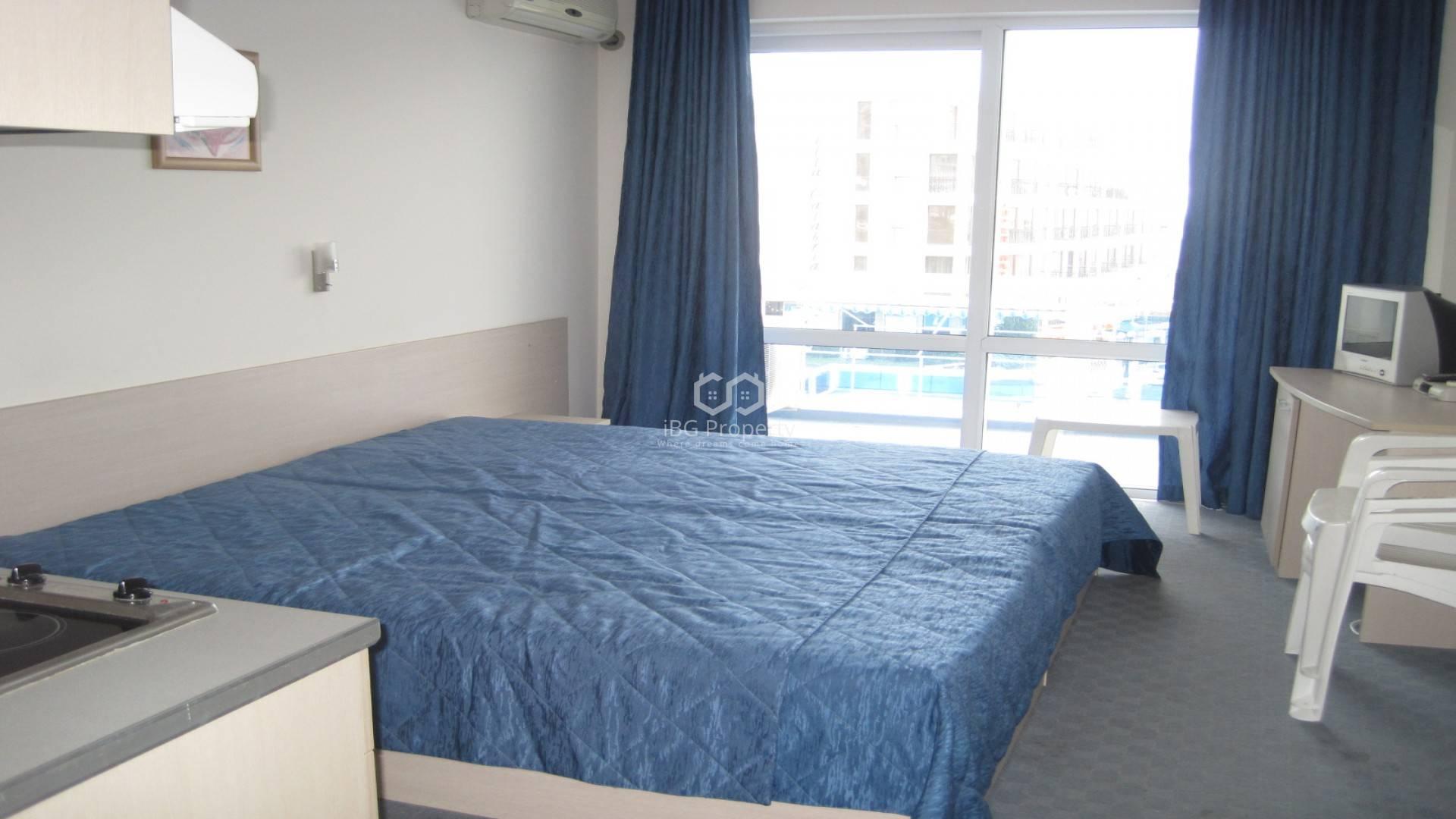 One room apartment Sunny Beach 30 m2