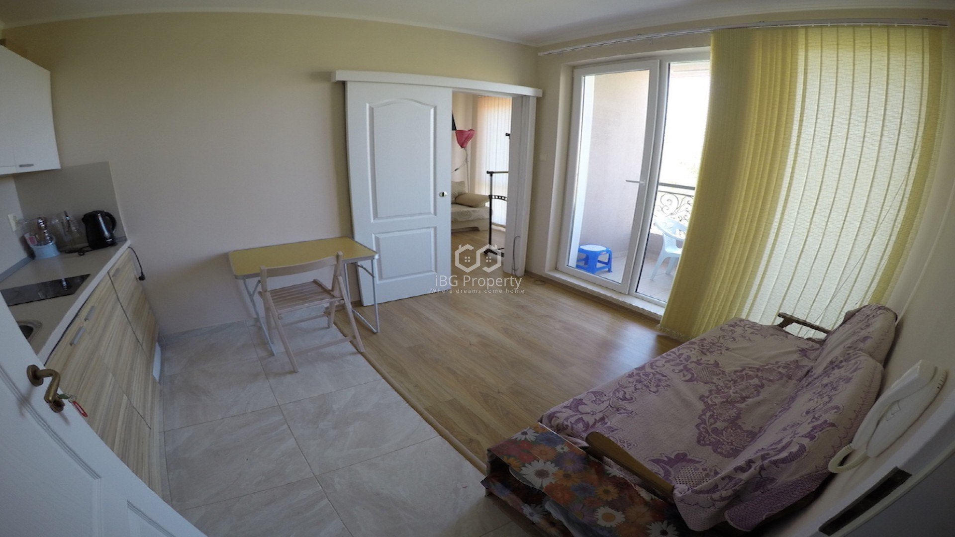 One bedroom apartment Sunny Beach 34 m2