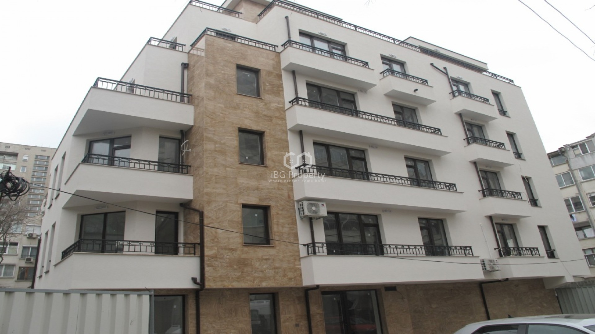One bedroom apartment tsentr Burgas 109 m2