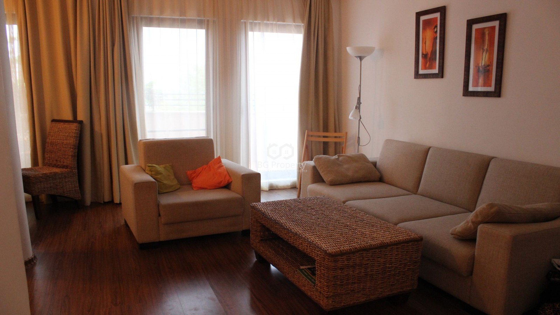 Two bedroom apartment Akheloy 91 m2