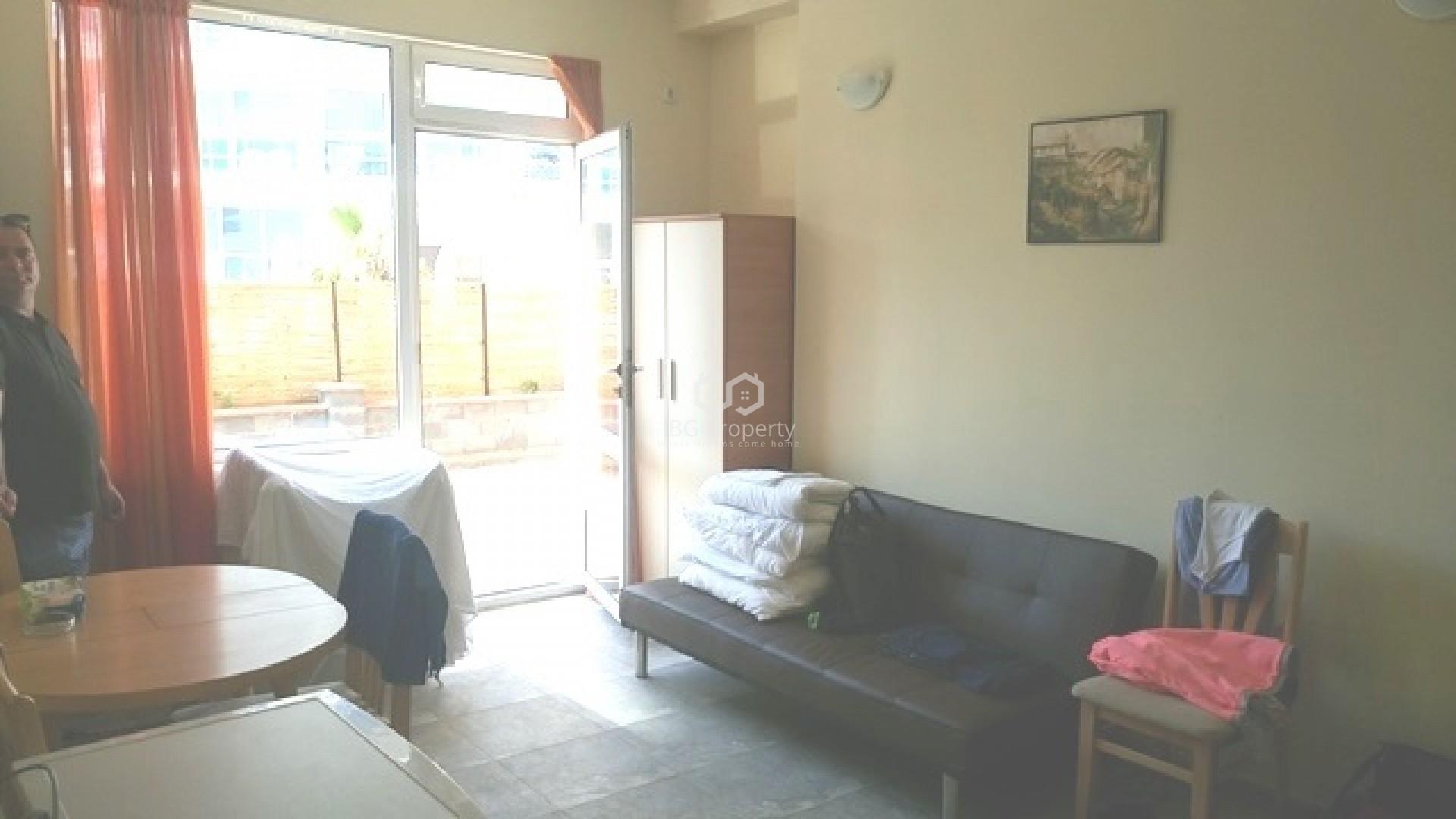 One room apartment Sunny Beach 41 m2