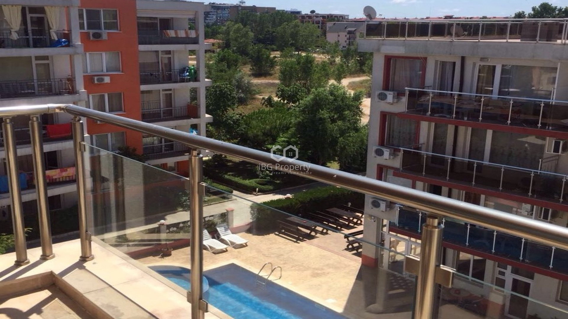 One bedroom apartment Sunny Beach 66 m2