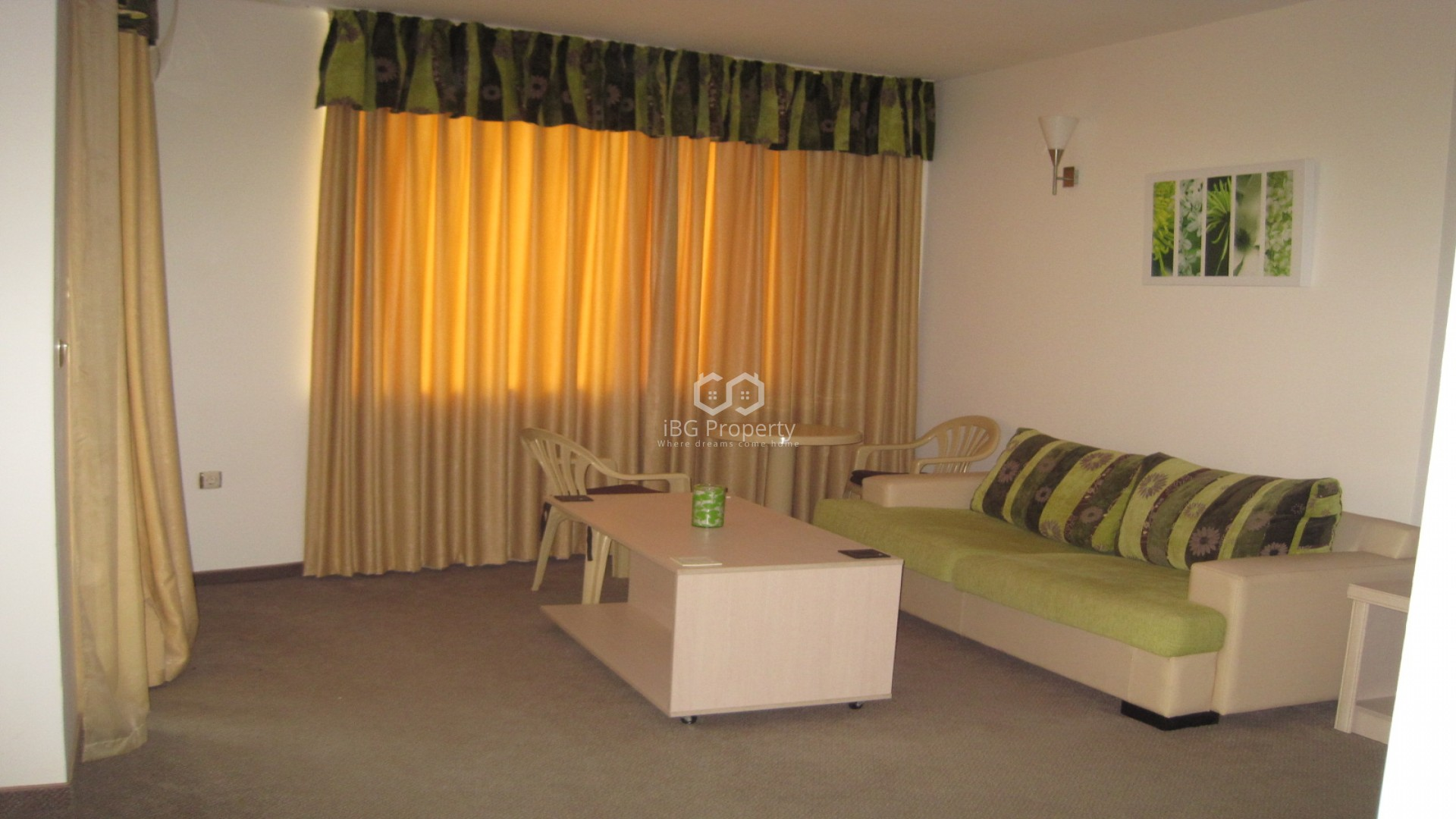 One bedroom apartment Sunny Beach 62 m2