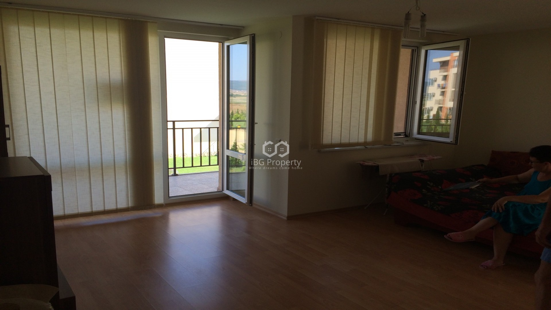 One room apartment Sunny Beach 52 m2