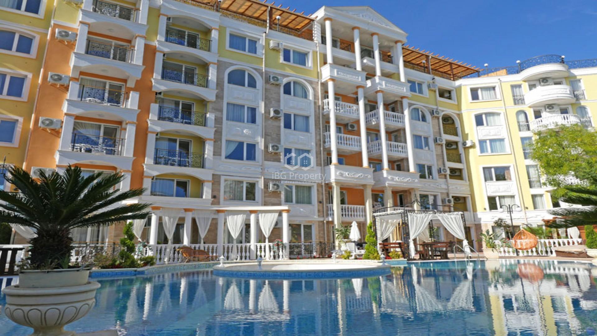 One room apartment Sunny Beach 37 m2