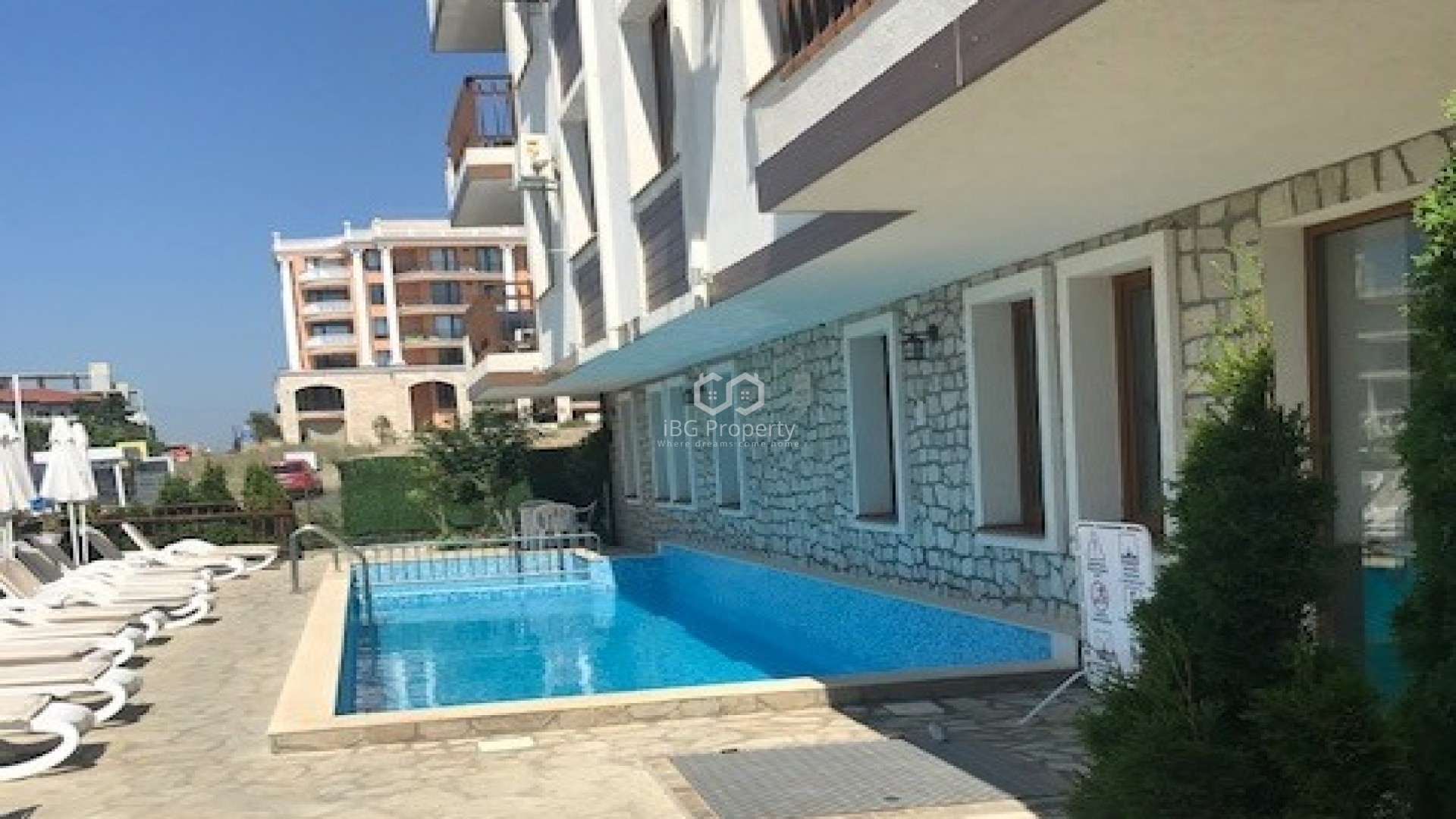 One room apartment Sveti-vlas 33 m2