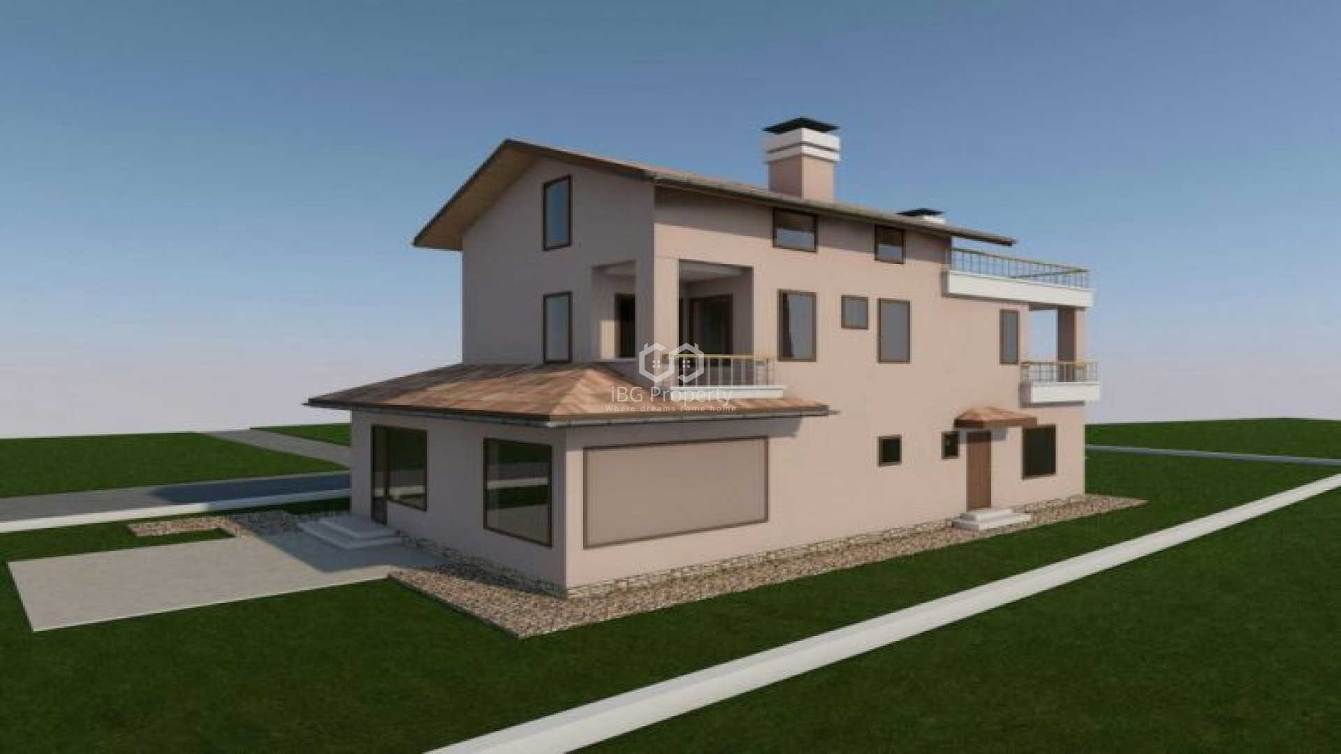 House Borovets Varna 243 m2