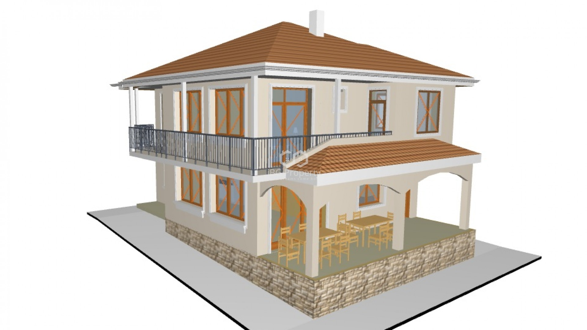 House Banevo 186 m2