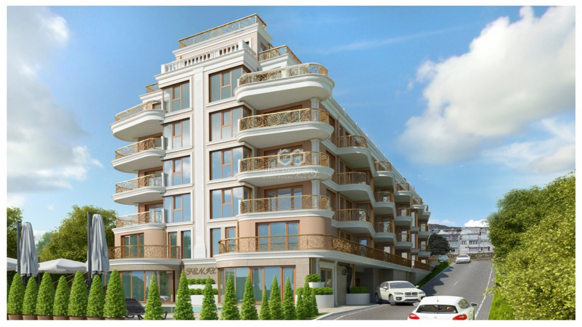 Two bedroom apartment Sveti-vlas 102,39 m2