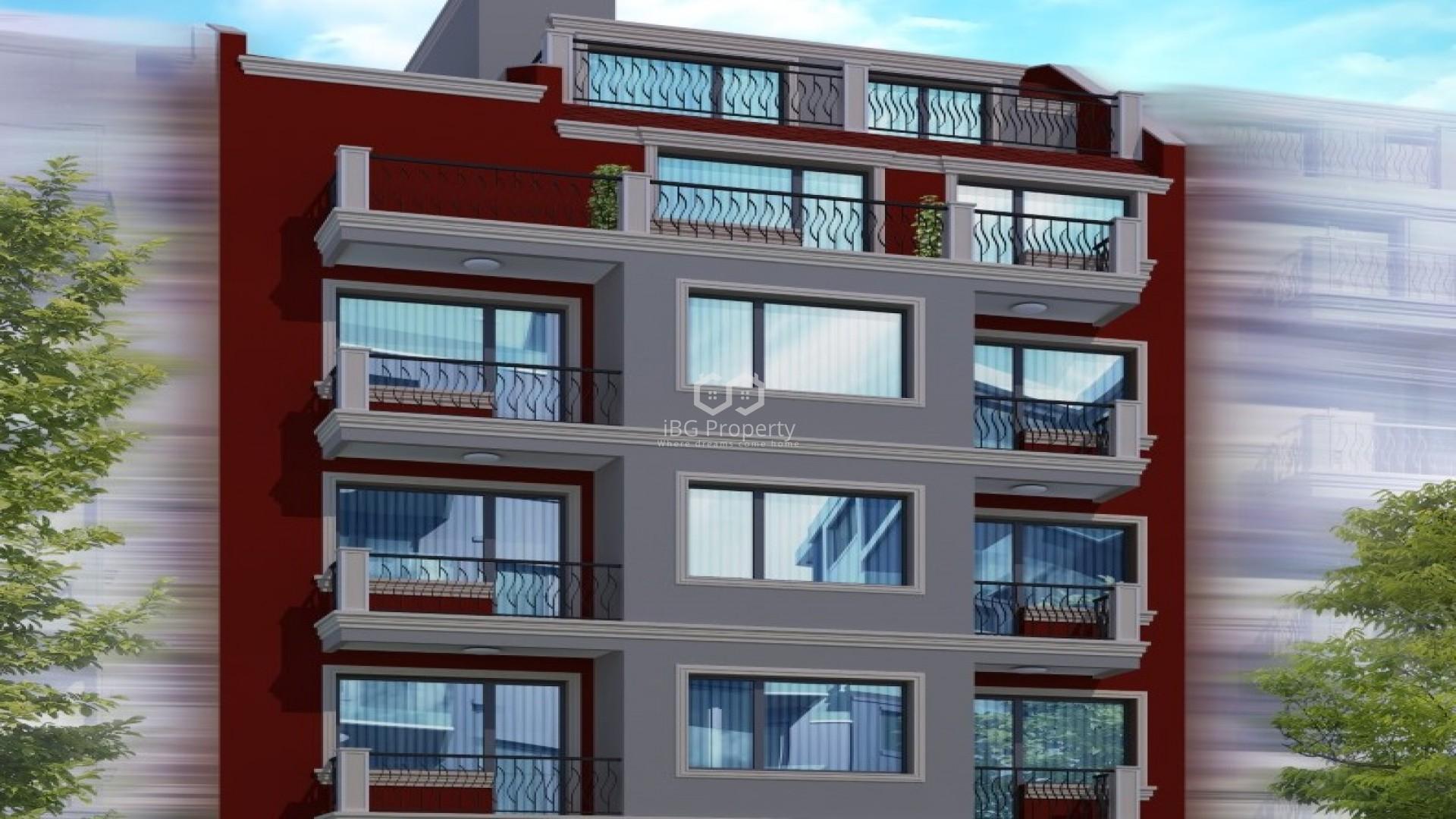 One room apartment Cveten kvartal Varna 52 m2
