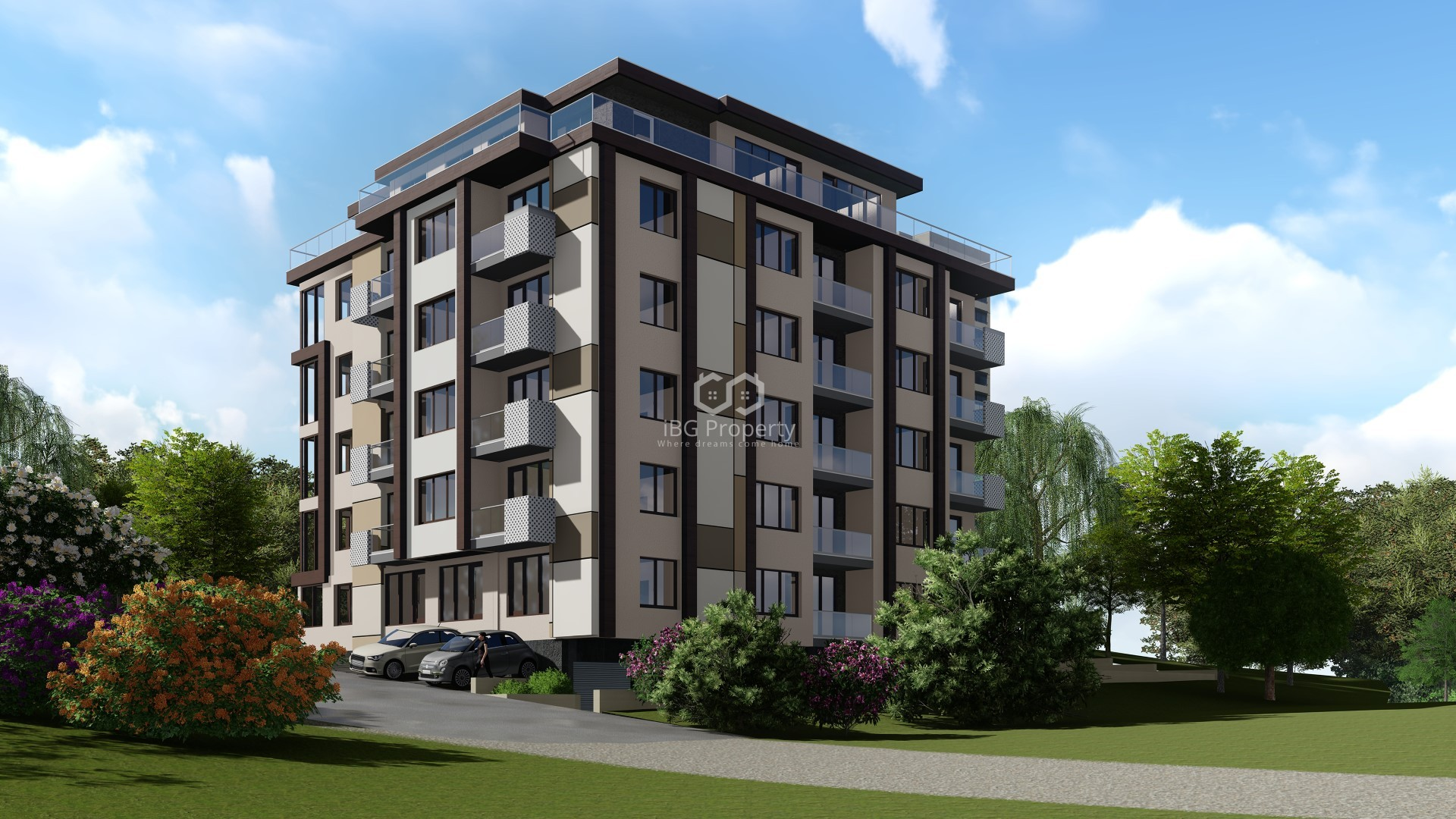 Two bedroom apartment Mladost Varna 85 m2