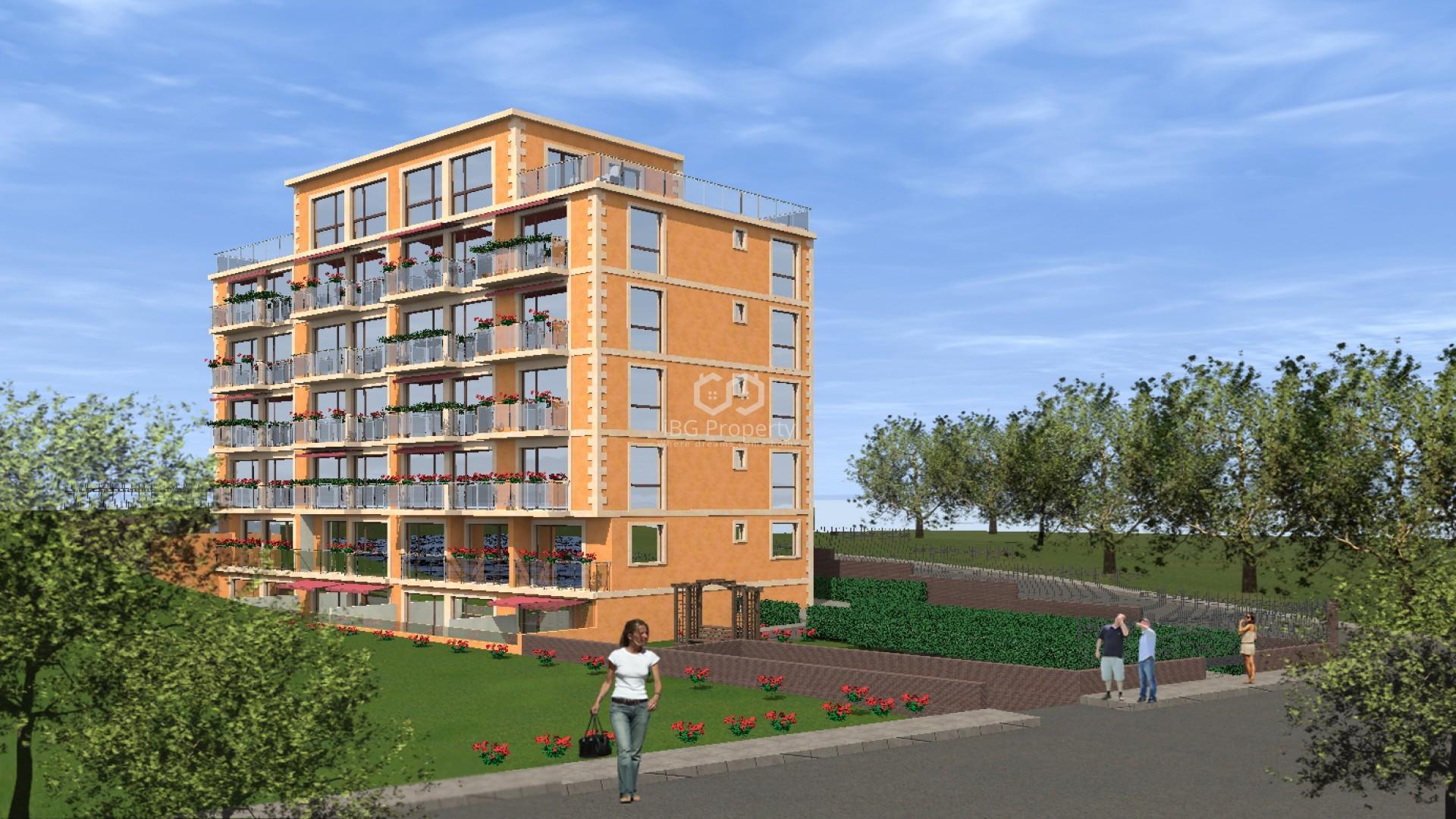 One bedroom apartment Golden Sands 48 m2