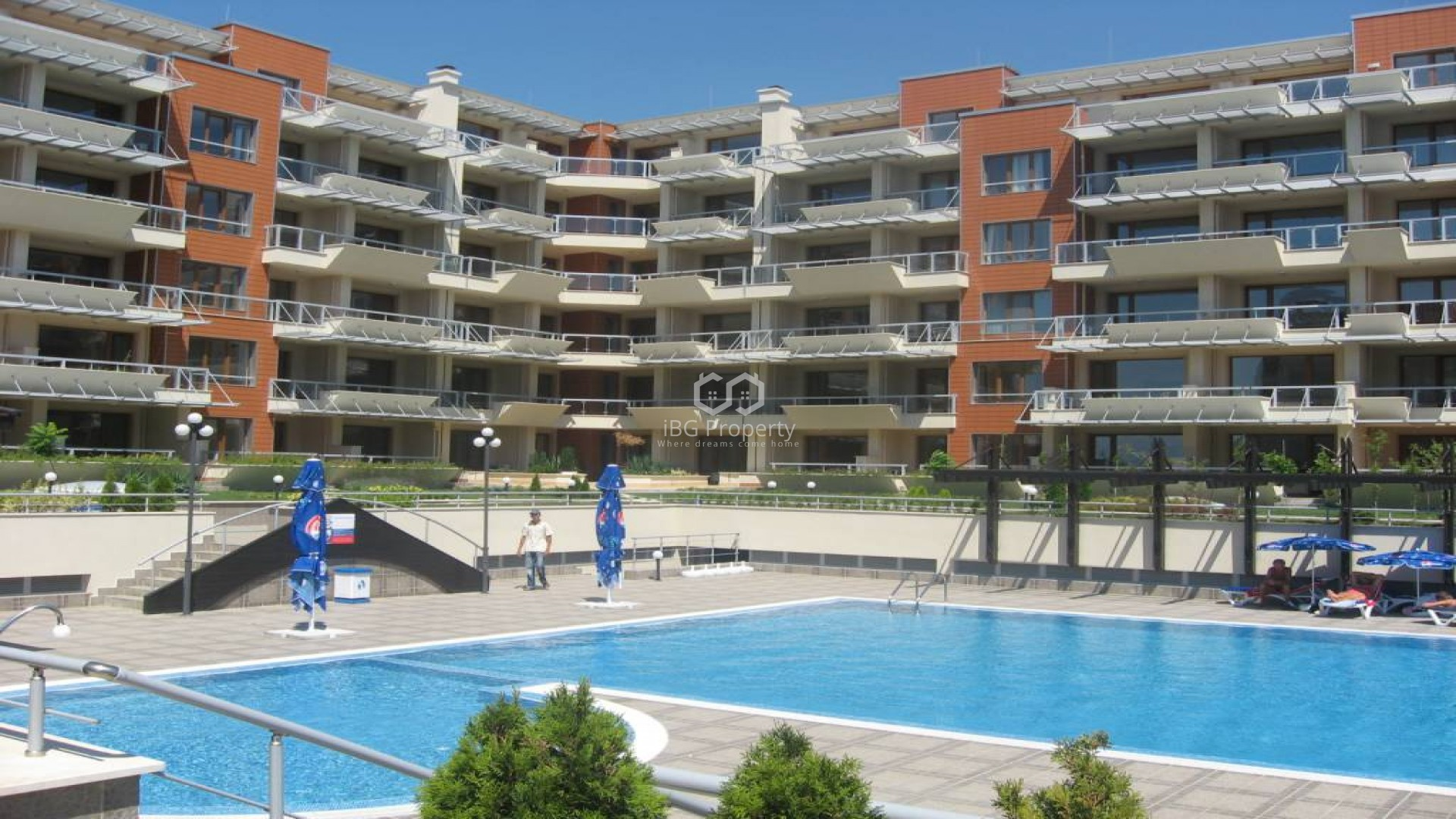 One room apartment Pomorie 79 m2