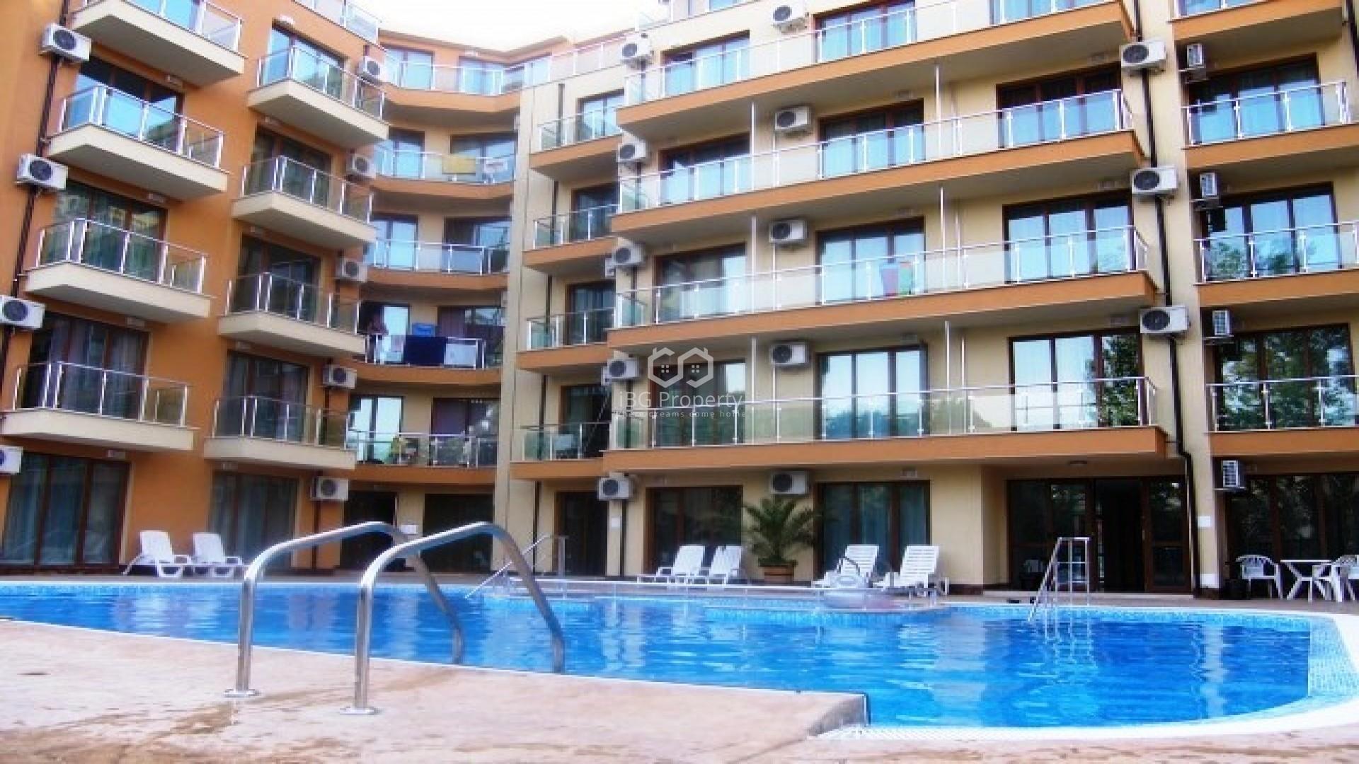 One room apartment Sunny Beach 36,5 m2