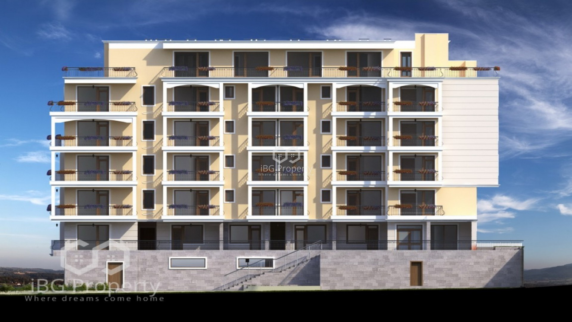 One room apartment St. Vlas 51 m2