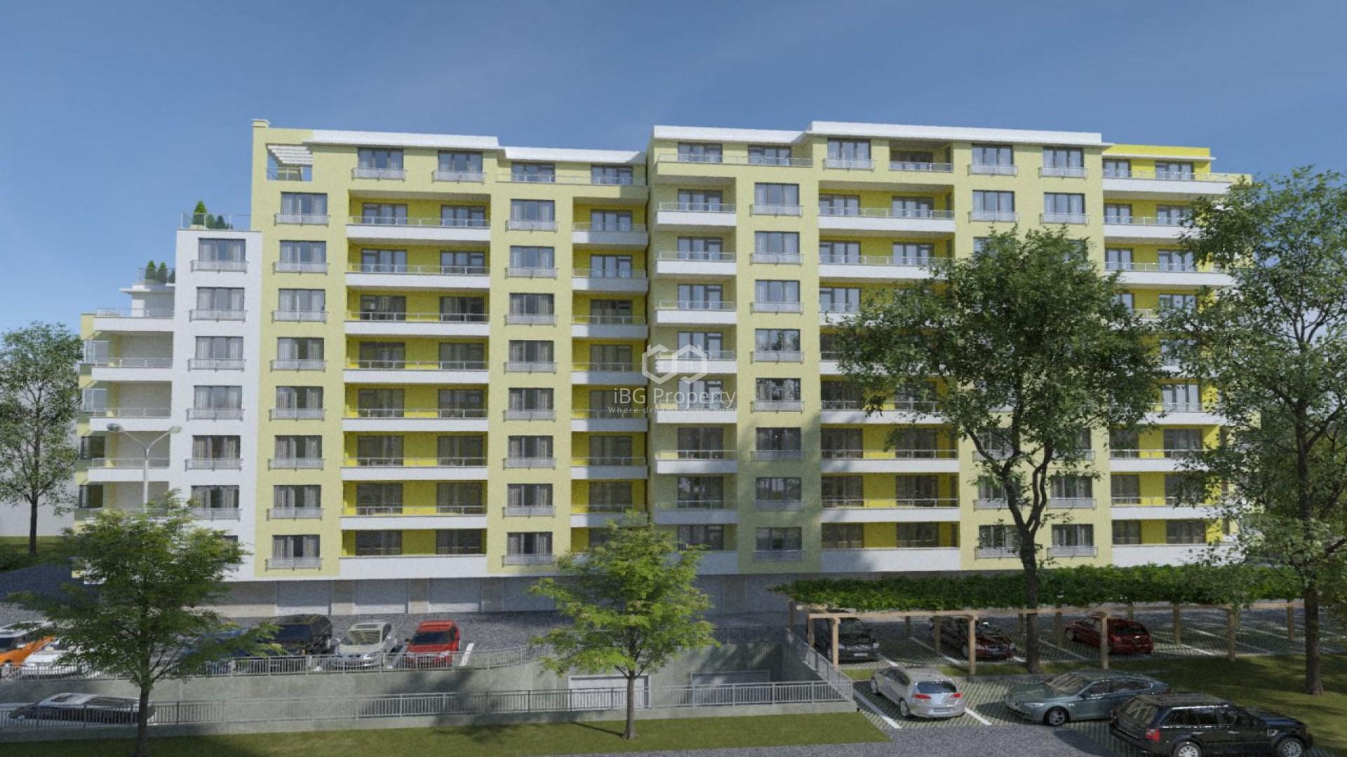 Two bedroom apartment Pobeda Varna 95,33 m2