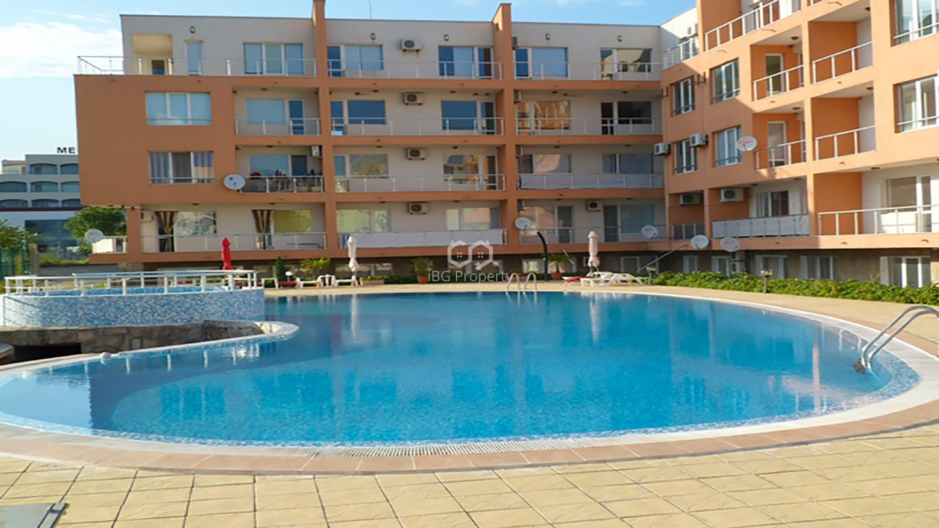 One bedroom apartment Ravda 78 m2
