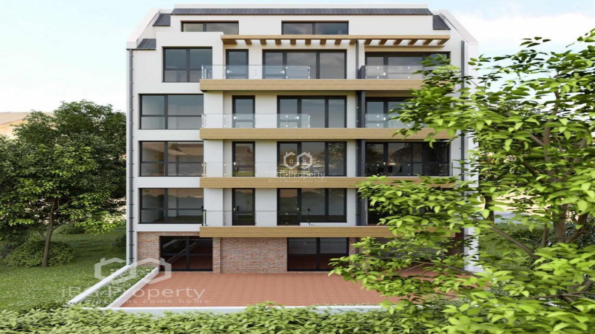 One bedroom apartment Lyatno kino Trakia Varna 67,63 m2