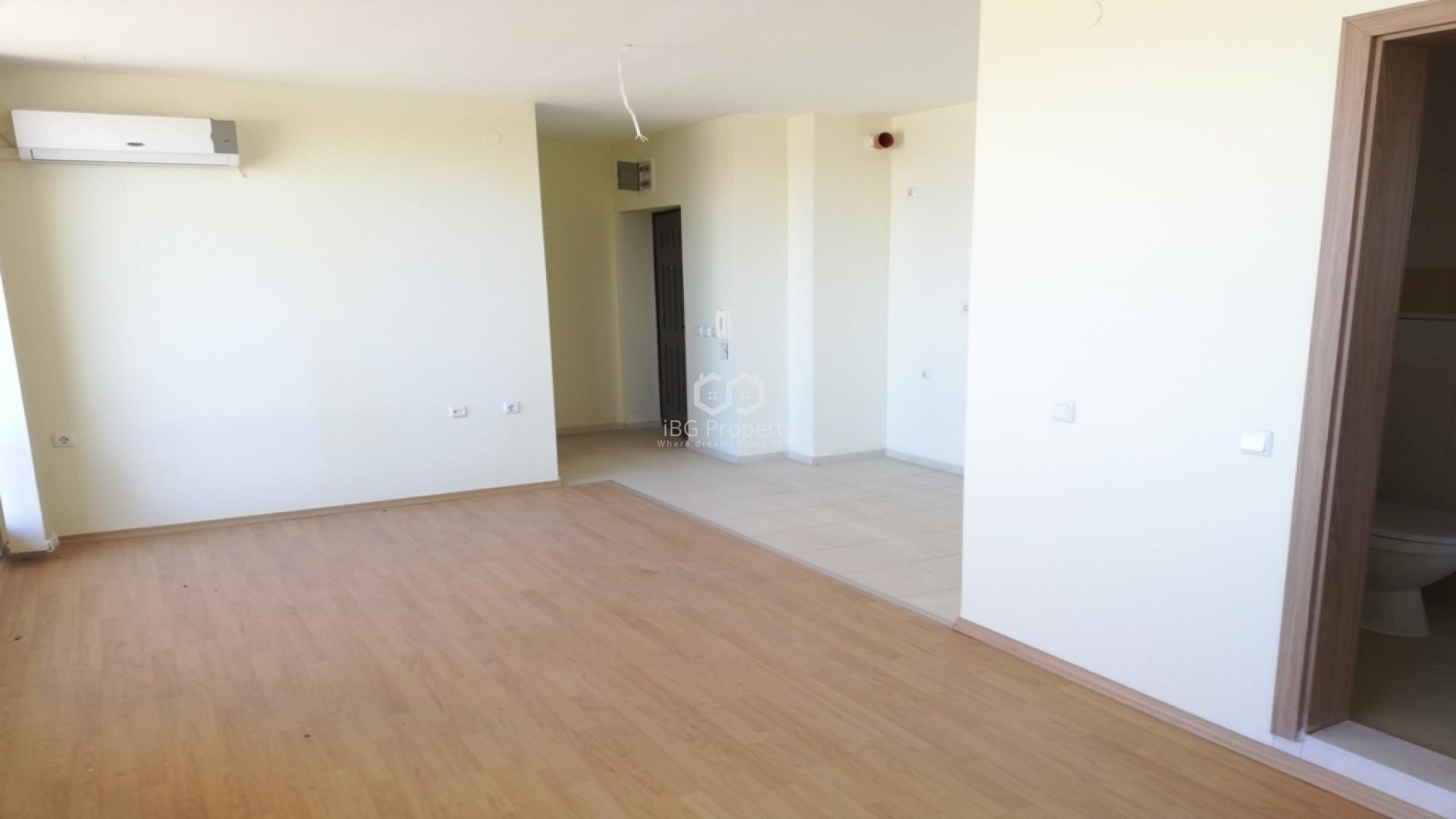 One room apartment Sunny Beach 47,74 m2