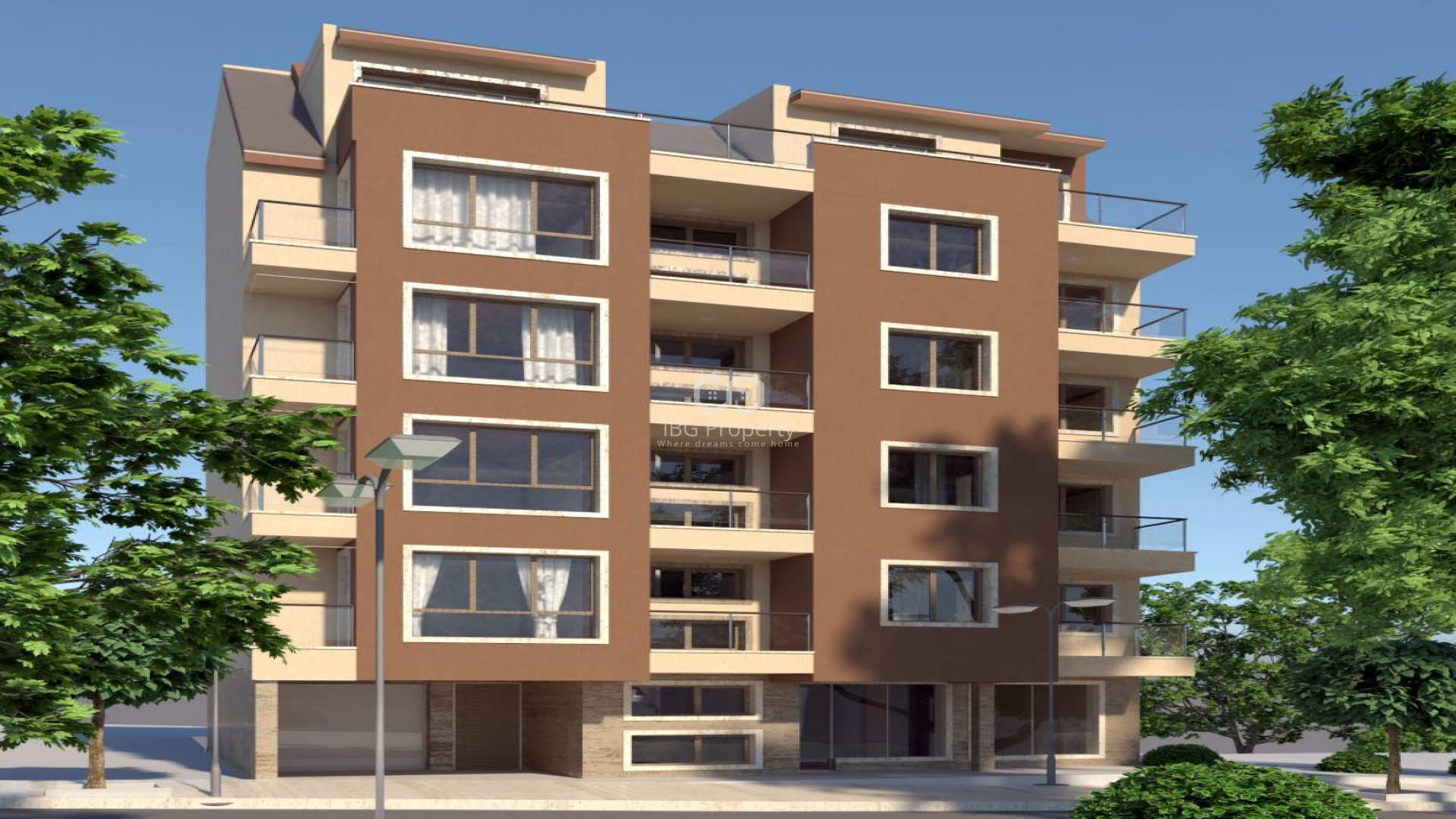 One bedroom apartment Kolhozen pazar Varna 61,69 m2