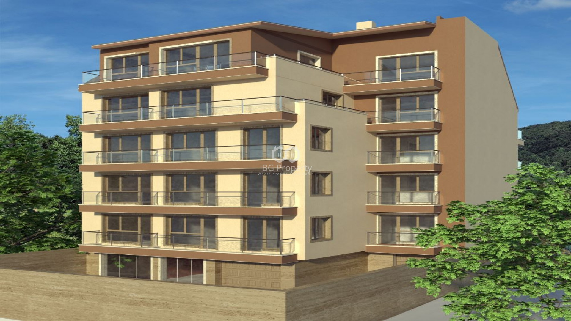 One room apartment Kolhozen pazar Varna 55,80 m2