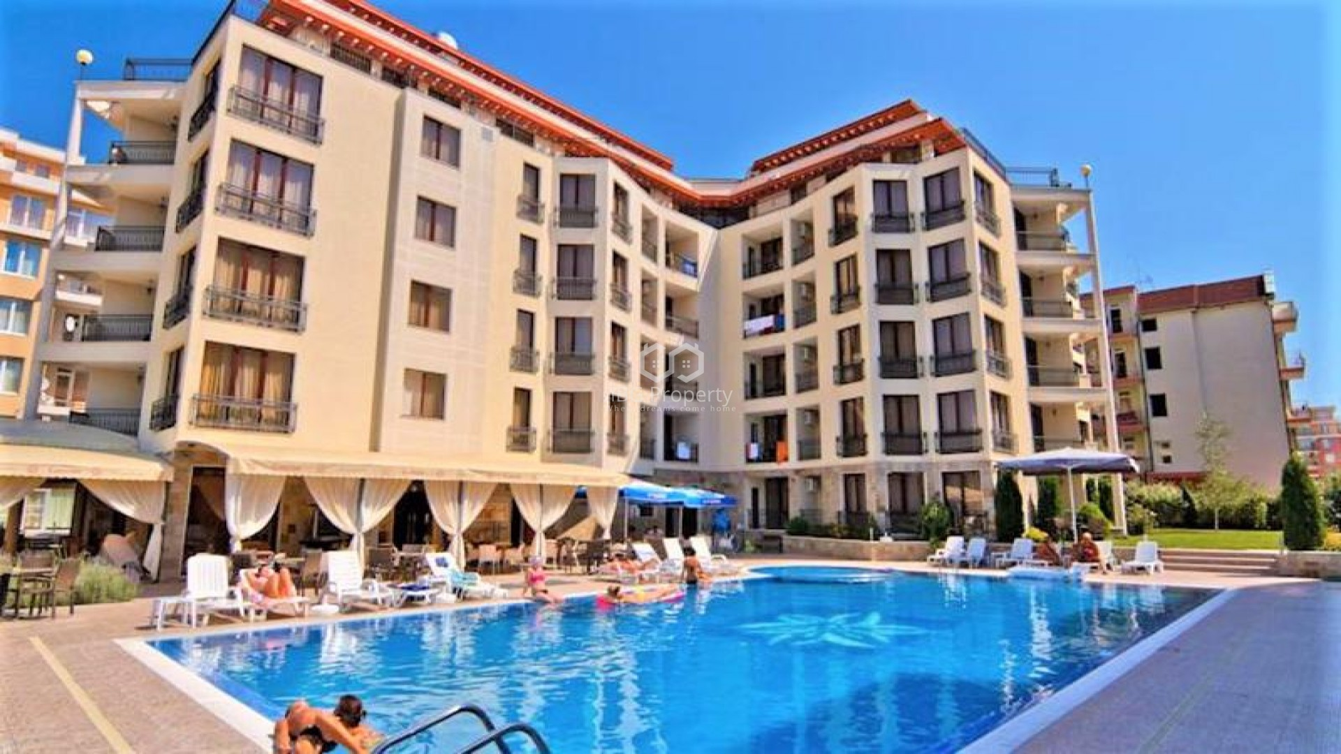 One bedroom apartment Sunny Beach 72 m2