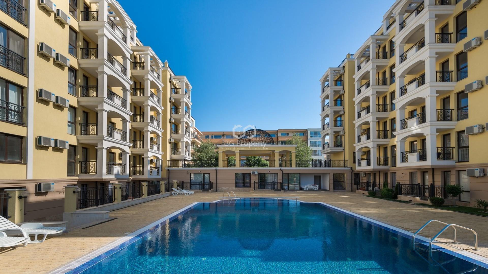 One bedroom apartment Sveti Vlas 52m2