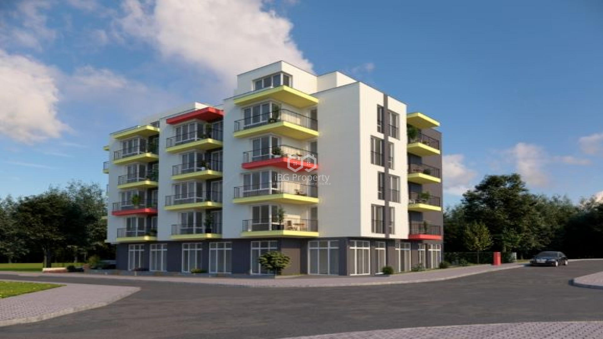 Two room apartment Obzor 65,43 sq.м.
