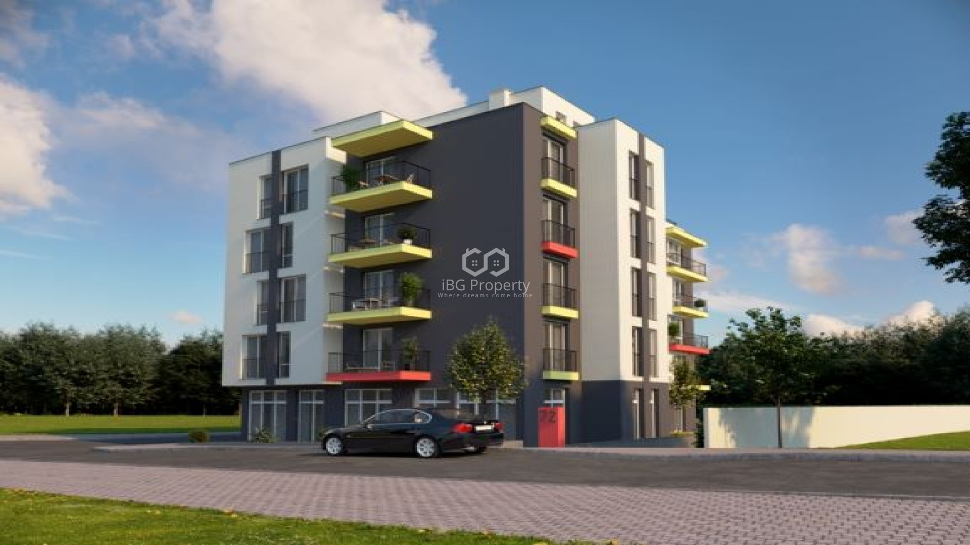 Two bedroom apartment Obzor 90,66 sq.м.