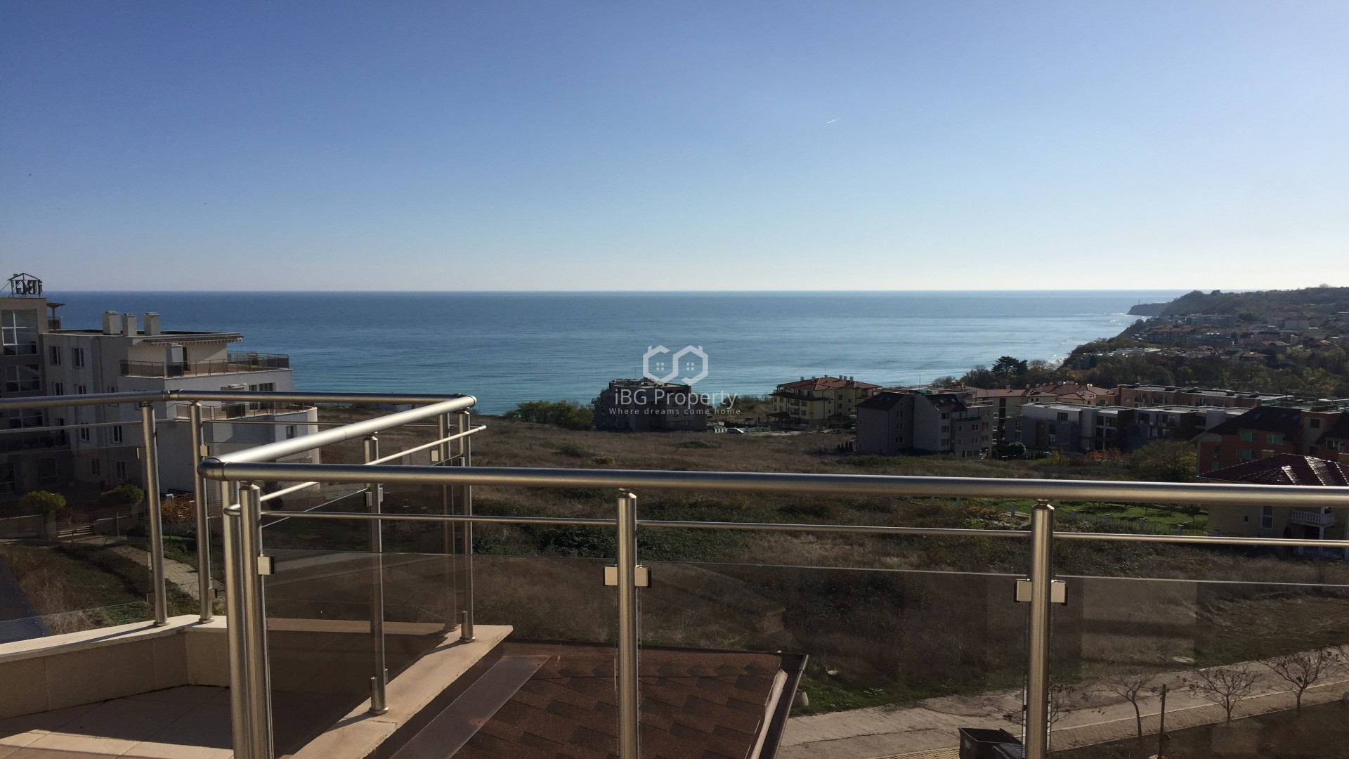 BEAUTIFUL SEA VIEW! Two bedroom apartment Byala 91 m2