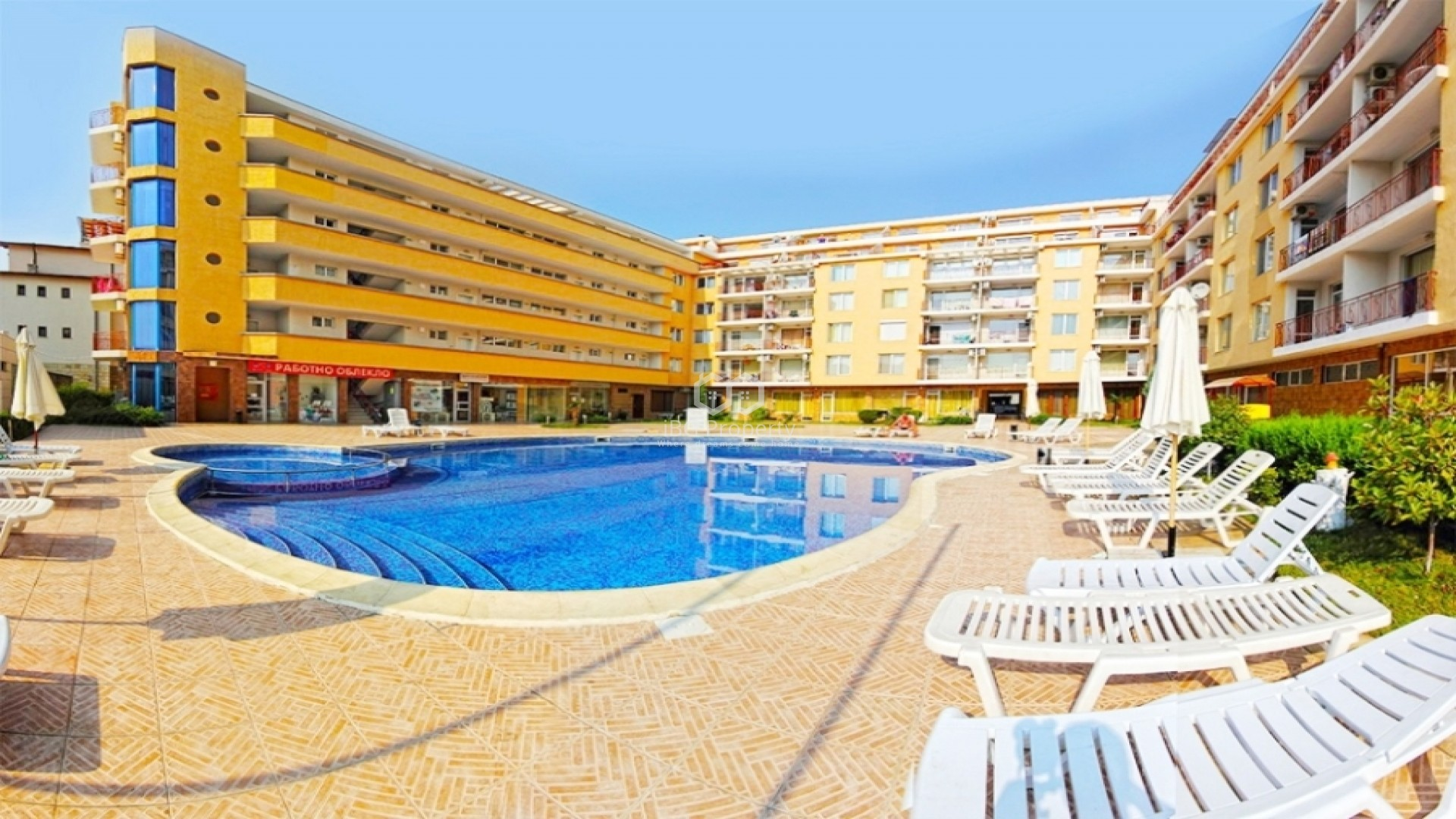 Two-bedroom apartment Sunny Beach 55,75 sq.m.