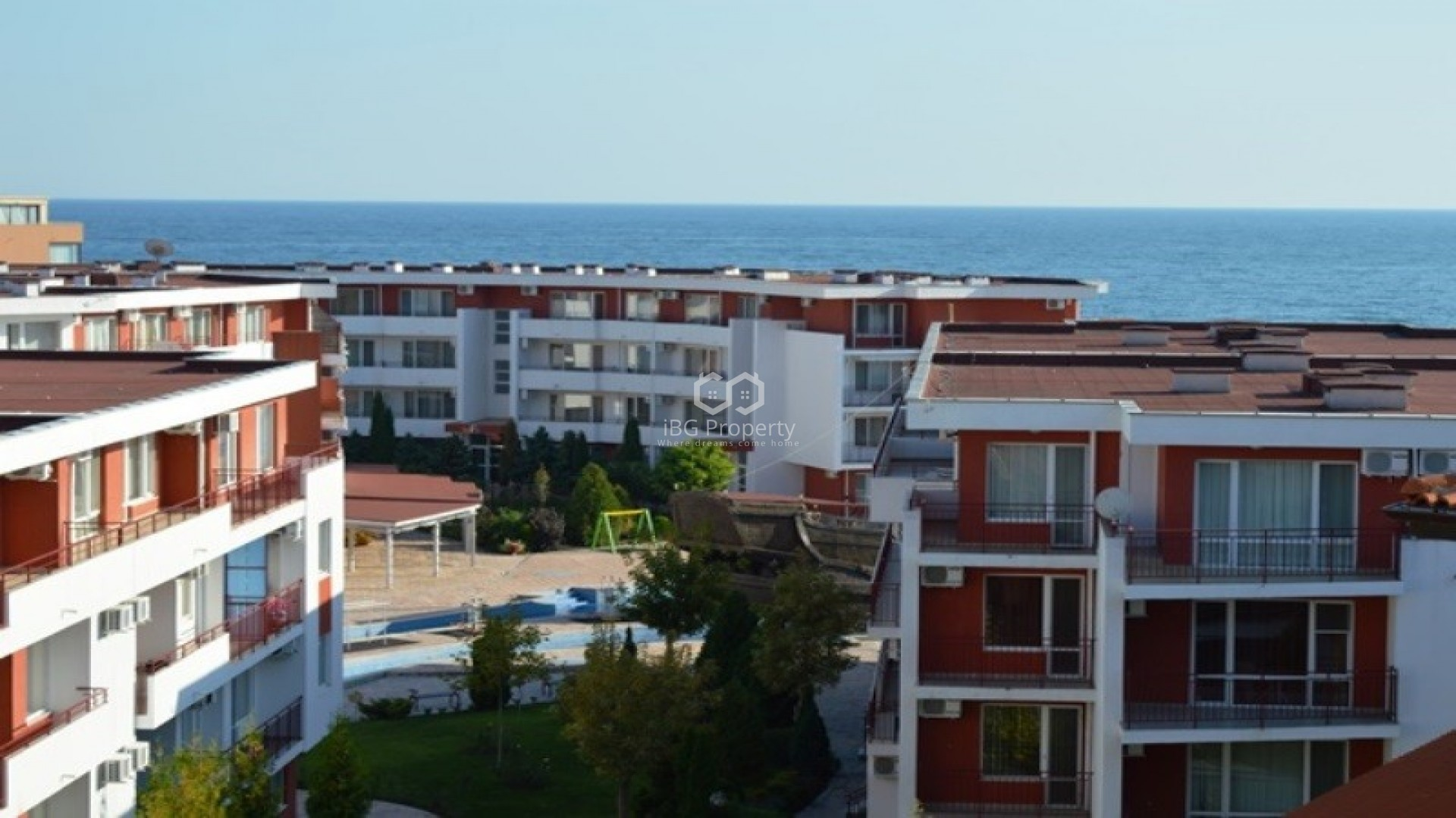 Two bedroom apartment Sunny Beach 108 m2